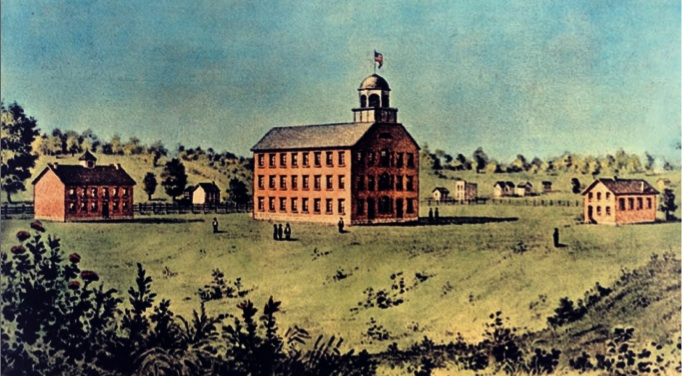 Indiana University, 1850