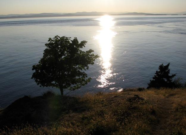 Puget Sound from San Juan Island